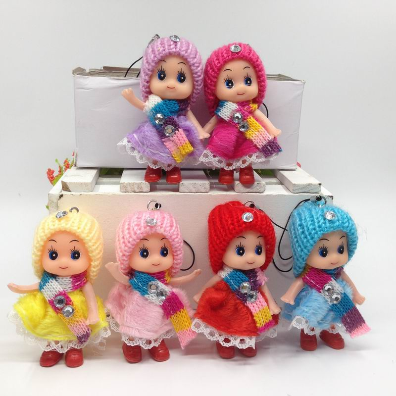 8CM 6pcs New Style Moveable Joint Hand Fashion Toys High Quality Girls Plastic Classic Toys Best Gift #A06