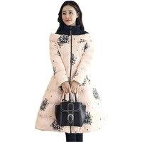 Cotton Padded Clothes Women Parkas Warm Outwear Fashion Plus Size 2019 New Winter Feather Cotton Jacket Loose Cloak Coats Z28