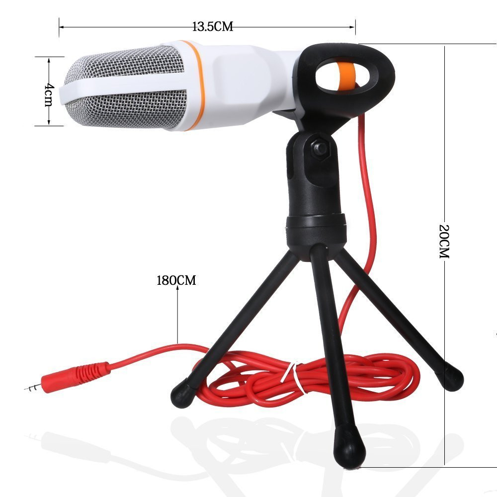 SF 666 professional microphone Wired mic condenser microphone computer mikrofon stand mike mikrafon sf-666 for phone computer pc