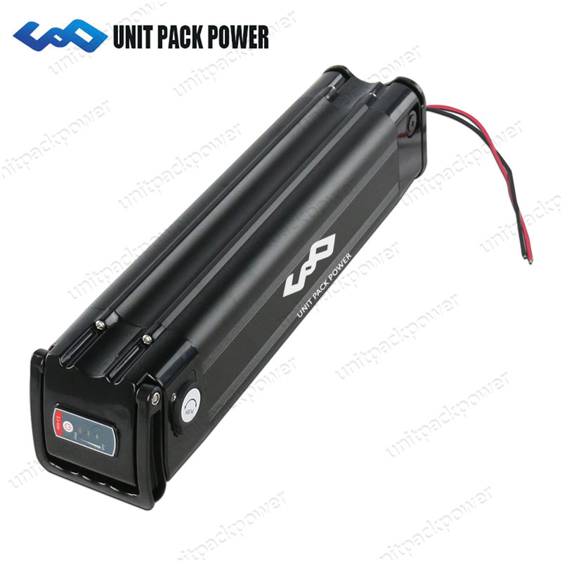 EU US No Tax 24V 10AH Silver Fish Ebike Battery Lithium Ion Battery with BMS and Charger for 300W 250W 200W Electric Bike frog case ebike lithium ion battery 24v 10ah electric bike battery with charger and bms