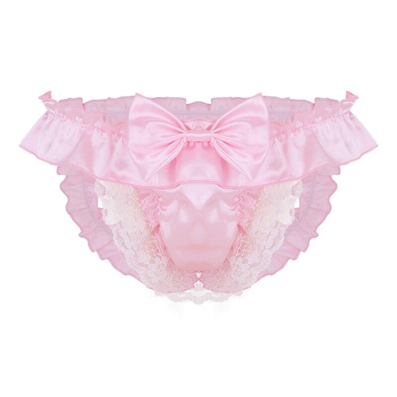 4cfe5add90a75 2019 YiZYiF Sexy Mens Lingerie Gay Underwear Soft Satin Crotchless ...