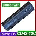 8800 mah bateria do portátil para hp pavilion dm4 dv3 dv5 dv6 dv7 g32 G62 G42 G6 para Compaq Presario CQ32 CQ42 CQ43 CQ56 CQ57 CQ62