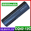 8800mAh laptop battery for HP PAVILION DM4 DV3 DV5 DV6 DV7 G32 G62 G42 G6 for Compaq Presario CQ32 CQ42 CQ43 CQ56 CQ57 CQ62