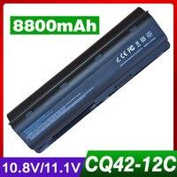 8800mAh laptop battery for HP PAVILION DV7 DM4 DV3 DV5 DV6 G32 G62 G42 G6 G7 for Compaq Presario CQ32 CQ42 CQ43 CQ56 CQ57 CQ62