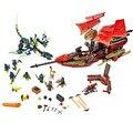 Kits Modelo de Final Fight Ninjagoed Maravilha Ninja Building Block Brinquedos Tijolo Ninjagoed Compatível Com Legoe