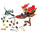Lucha Final Ninjagoed Marvel Modelo Kits Ninja Bloque De Construcción de Ladrillo Juguetes Ninjagoed Compatible Con Legoe