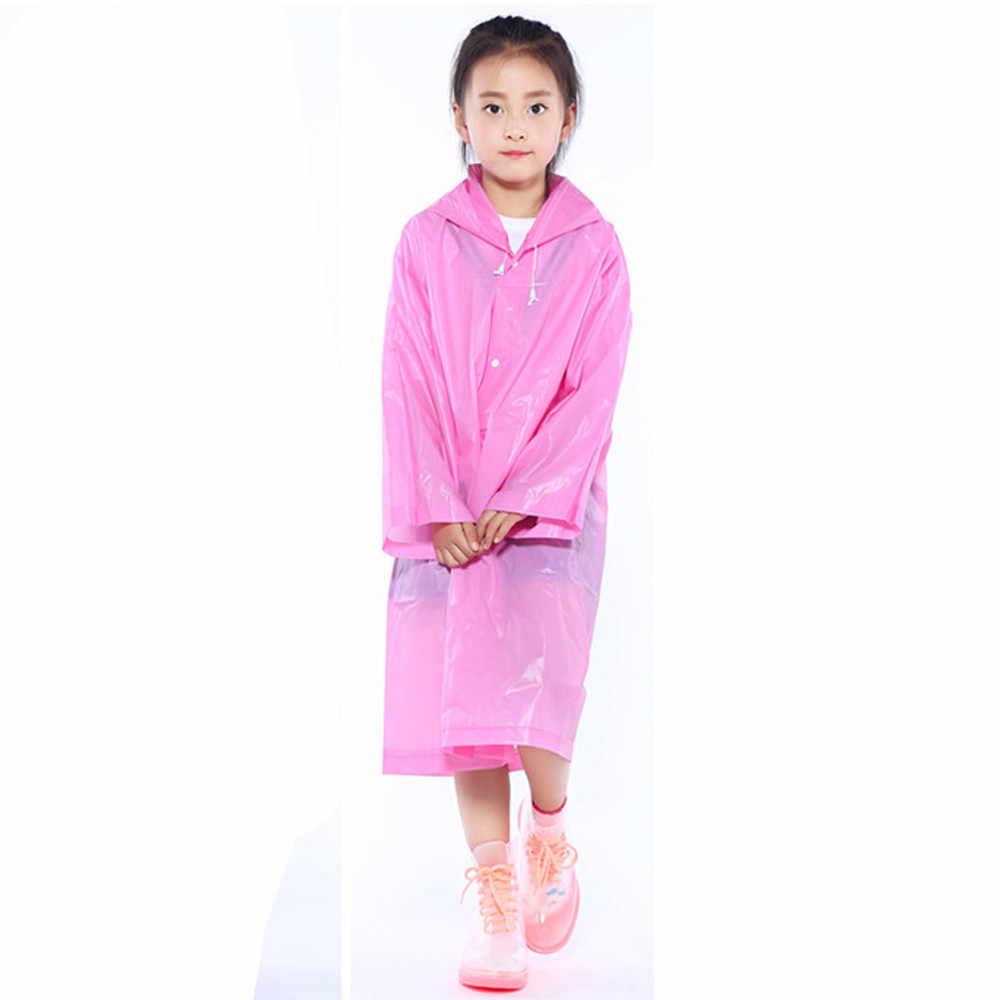 Дождевик для детей; унисекс; непромокаемый костюм; Водонепроницаемая ветровка; дождевик; уличная походная непромокаемая одежда; куртка; пончо; толстовка; L * 5