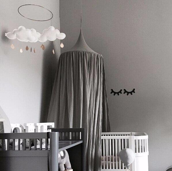 Beige Weiß Grau Rosa Kinder Jungen Mädchen Prinzessin Baldachin Bett Volant  Kinder Zimmer Dekoration Baby Bett