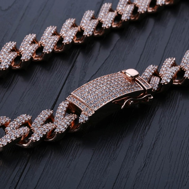 Iced Out Paved Necklace For Men