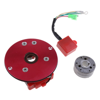 4.53 Racing Stator Magneto Racing Inner Rotor CDI Kit Red For 110 125 140cc Lifan YX Pit Dirt Bike Brand New