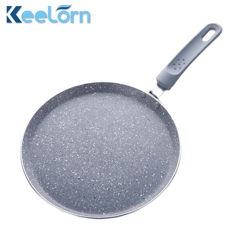 Keelorn 10-inch Cake Pot Pizza Plate Branded Rice Cooker Omelette Non-stick Pot of Rice Stone Frying Pan Induction Cooker Pot