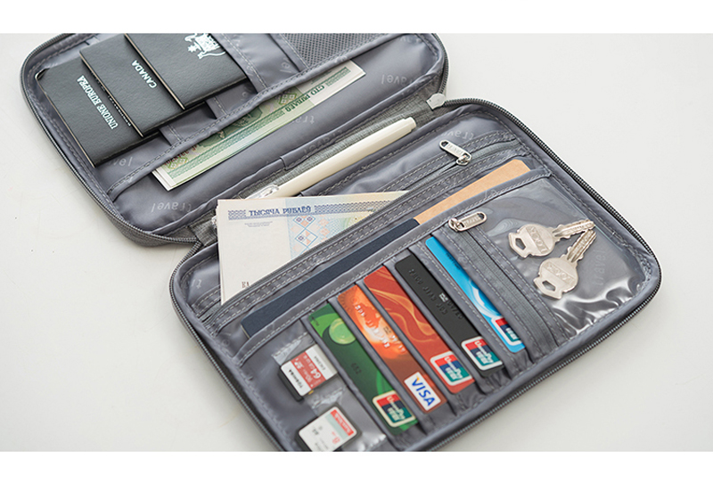 Passport Holder, Multi function Wallet Organizer, (TTO2)