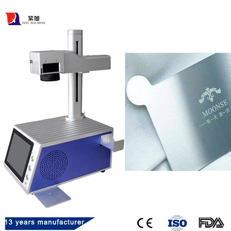 Haute Précision Mini Bureau 20 w 30 W Raycus Laser Machine de Marquage Pour Le Métal Gravure Laser Machine de Marquage