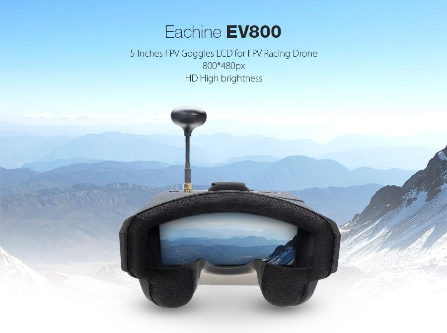 Eachine EV800 5 Inches 800x480 FPV HD Video Goggles