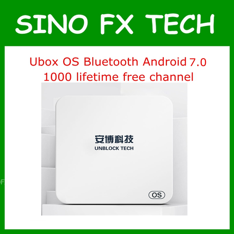 Unblock UBOX5 UBOX PRO OS I900 1GB 16GB Android 7.0 Smart TV Box 1000 free channels for JP SG NZ KR MY AU CA US HK ID