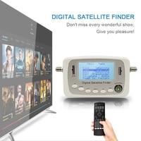 Hot Selling SF 500 Digital Satellite Finder Signal Meter Finder DVB S DVB S2