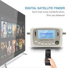 SF-500A SF500A Цифровой Спутниковый Finder Метр Сигнала Искателя DVB-S DVB-S2 Спутниковая Finder с Компасом