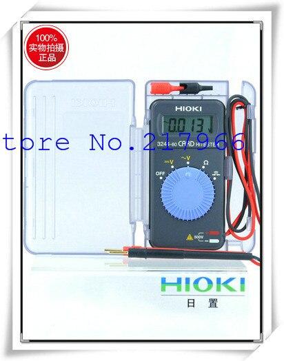 Free shipping! Original new original Hioki (HIOKI) 3244-60 Card type pocket  multimeter multimeter