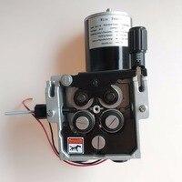 Pro 4 рулона Фидер Сварочного Провода 24 V провод механизм подачи 1,2 1,6 мм/. 045 1/16 (detault) подачи проволоки миг mag сварочный аппарат SSJ 15