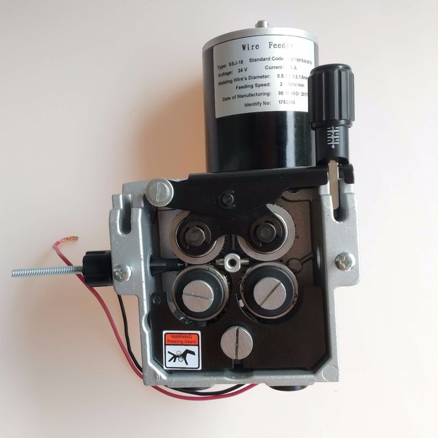Pro 4 Rolls Welding Wire Feeder 24V Wire Feed Assembly 1.2 1.6mm ...