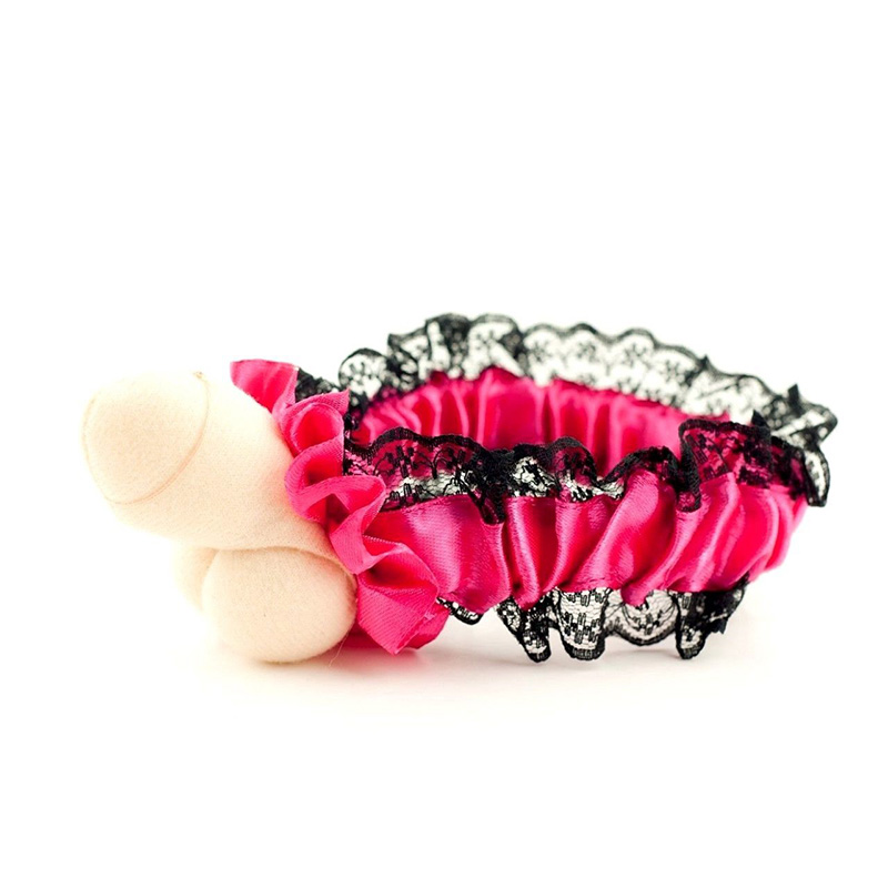 Aliexpress Buy Bachelorette Party Plush Willy Garter Pink