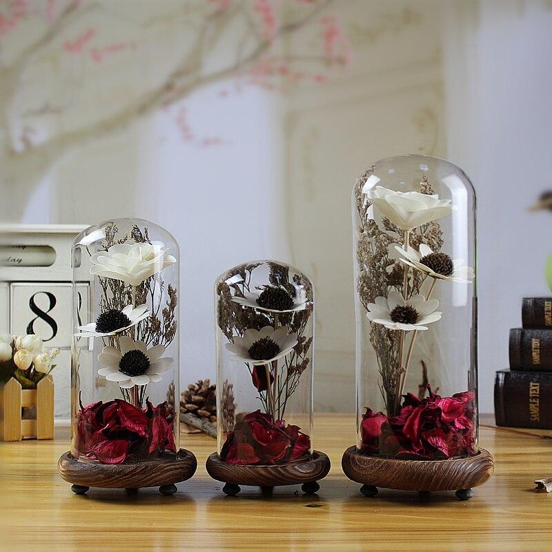 De Cristal Creativo Manualidades Flores Artificiales De La Boda - Manualidades-con-flores-artificiales