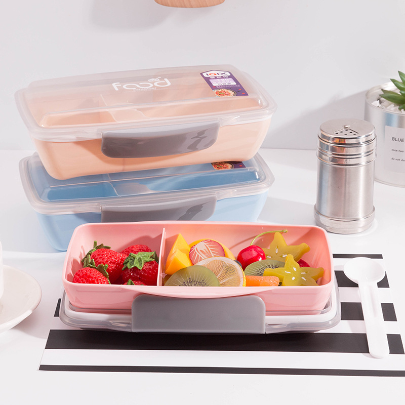 Multi Compartment Lunch Box Food Meal Fruits Bento For Office Work School  BPA