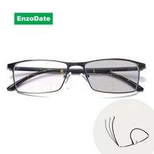 Progressive Transition Photochromic Computer Reading Glasses Flexible Temples UV