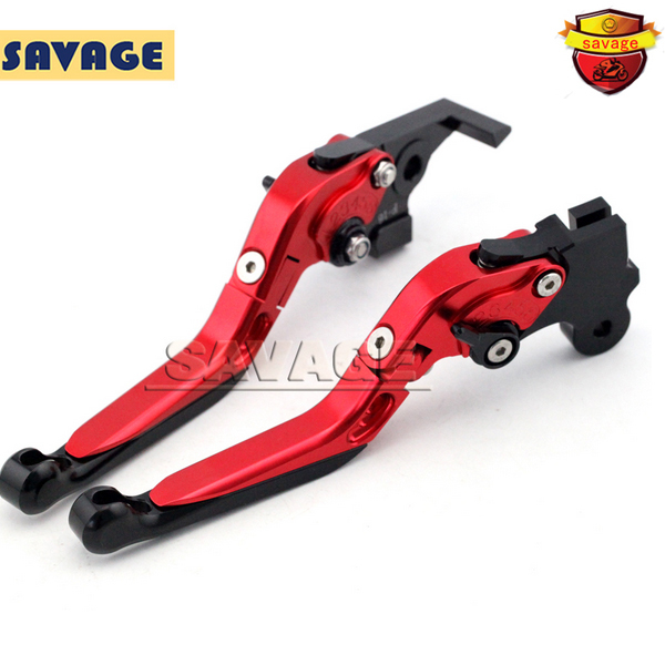 For BMW F650GS/Dakar F650CS Scarver G650GS G650 Sertao Red Motorcycle Adjustable Folding Extendable Brake Clutch Levers