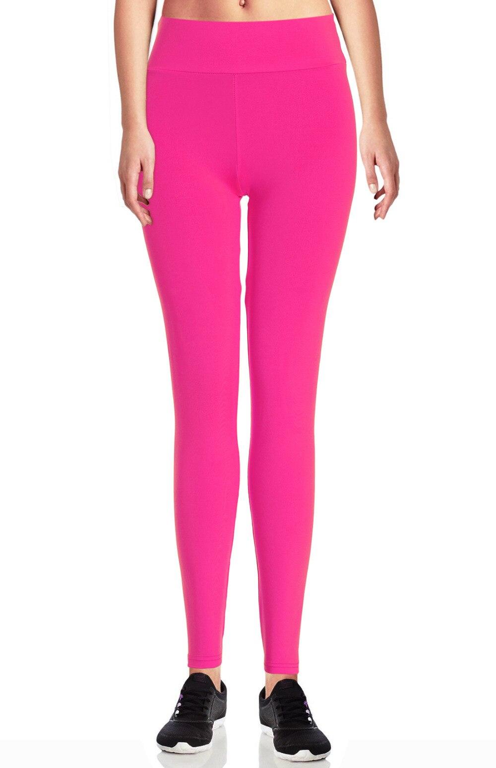 493444e0cb83c Everbellus Femme Fitness High Elastic Black Solid Sporting Leggings ...