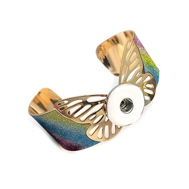 Бубук 015 большая манжета бабочка нарукавник 18 мм застежка