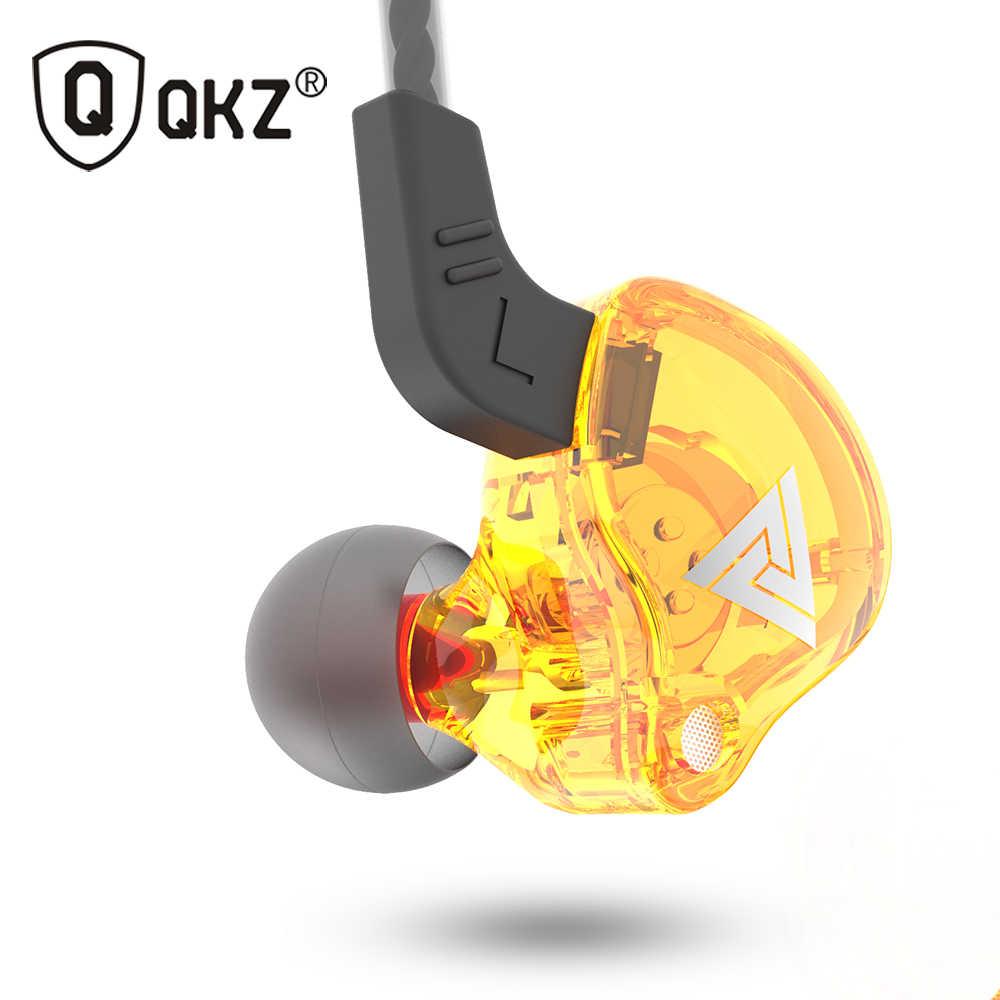 QKZ AK6 ATES ATE ATR HD9 النحاس سائق HiFi سماعات رياضة في الأذن سماعة لتشغيل مع سماعة رأس مع ميكروفون سماعات موسيقى