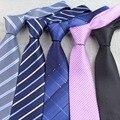 Para hombre de negocios lazo Formal de punto a rayas Jacquard Wedding Corbata 8 CM clásico Corbata Corbata corbatas Gravata