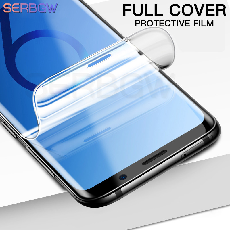 Protective Film On The For Samsung Galaxy S8 S9 Plus S7 Edge Note 8 9 A6 A8 Plus 2018 Soft Full Cover Screen Protector Not Glass