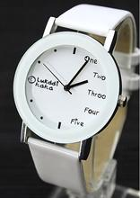 Кожа модный бренд браслет часы Для женщин Для мужчин дамы кварцевые часы наручные часы relogio feminino masculino