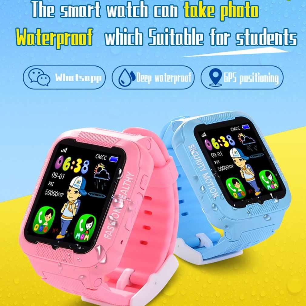 K3 Детские Смарт часы телефон карты gps позиционирование водонепроницаемый Сенсорный Экран фото Смарт часы многофункциональное позиционирование