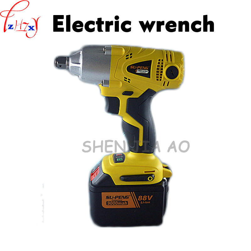 Electric Impact Wrench lithium electric charging impact wrench 88V9000mA quickly change the brush electric wrench tool 1pc rotor rechargeable impact wrench accessories for makita dtw450rfe stator bearing chassis handle switch gear shell carbon brush