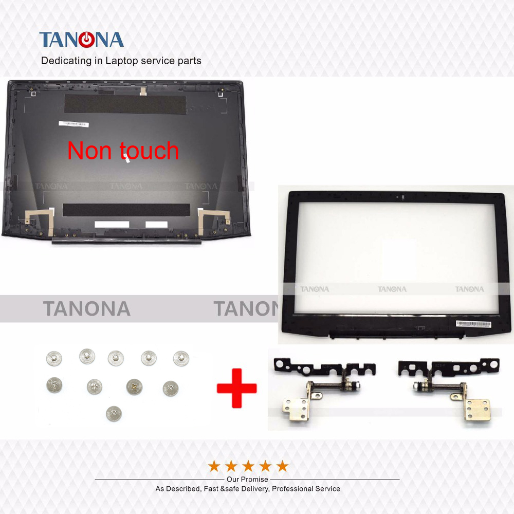 Lid Hinges Back-Top-Cover Y50-70 Lenovo Bezel for Lcd Rear Non-Touch Am14r000400/Front/Bezel/.. title=