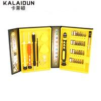 KALAIDUN 38 ב 1 ערכת כלי תיקון תכליתי מברג דיוק תקן עבור iPhone עבור כלים יד מחברת טלפון סלולרי