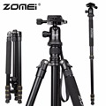 Новый Zomei Z688 Алюминиевый Профессиональный Штатив Монопод Для Камеры DSLR с Мяч Головой/Портативная Камера Стенд/Лучше, чем Q666