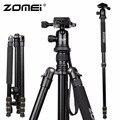 Nova Zomei Z688 Alumínio Professional Tripé Monopé Para DSLR Camera com Bola de Cabeça/Suporte Da Câmera Portátil/Melhor do que Q666