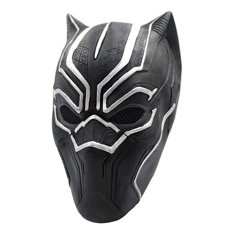 Mask Roles Cosplay Latex Mask Helmet For Black Panther Captain America Civil War