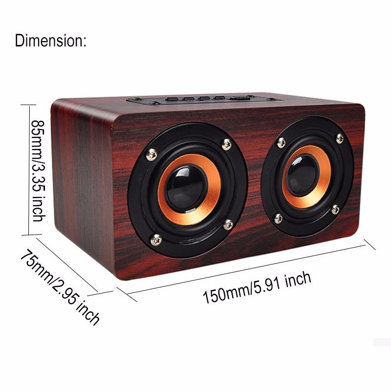 mi bluetooth speakersw wood (2)