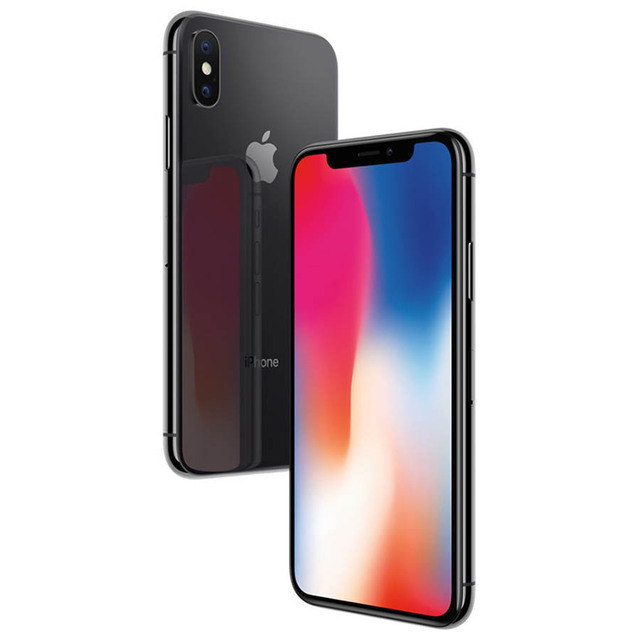 Original Apple iPhone X Face ID 3GB RAM 64GB/256GB ROM 5.8 inch 12MP Hexa Core iOS A11 Dual Back Camera 4G LTE iphonex