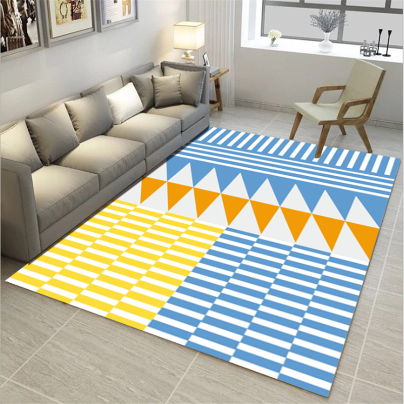 AOVOLL Nordic Minimalist Geometric Print Carpet Rugs And Carpets For Home Living Room Bedroom Rugs Carpet Kids Room Floor MatsAOVOLL Nordic Minimalist Geometric Print Carpet Rugs And Carpets For Home Living Room Bedroom Rugs Carpet Kids Room Floor Mats