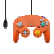 Filaire USB Contrôleur pour NGC Gamecube Console De Poche Pour Nintendo NGC Gamepad Controle PC GC Port Pour Wii Ordinateur Joystick