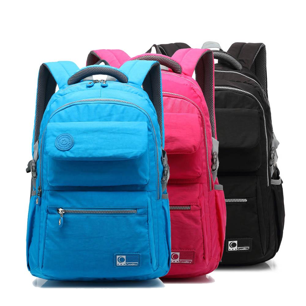 ФОТО Waterproof Nylon Men Backpack for 15 Inch Laptop Office Staff Business Bag Women Leisure Travel Rucksack School Pouch Daypack