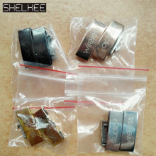 SHELKEE Replacement Metal Buckle lock Logo connector Parts Repair parts For Beats Studio3 Studio 3.0 wireless Headphone