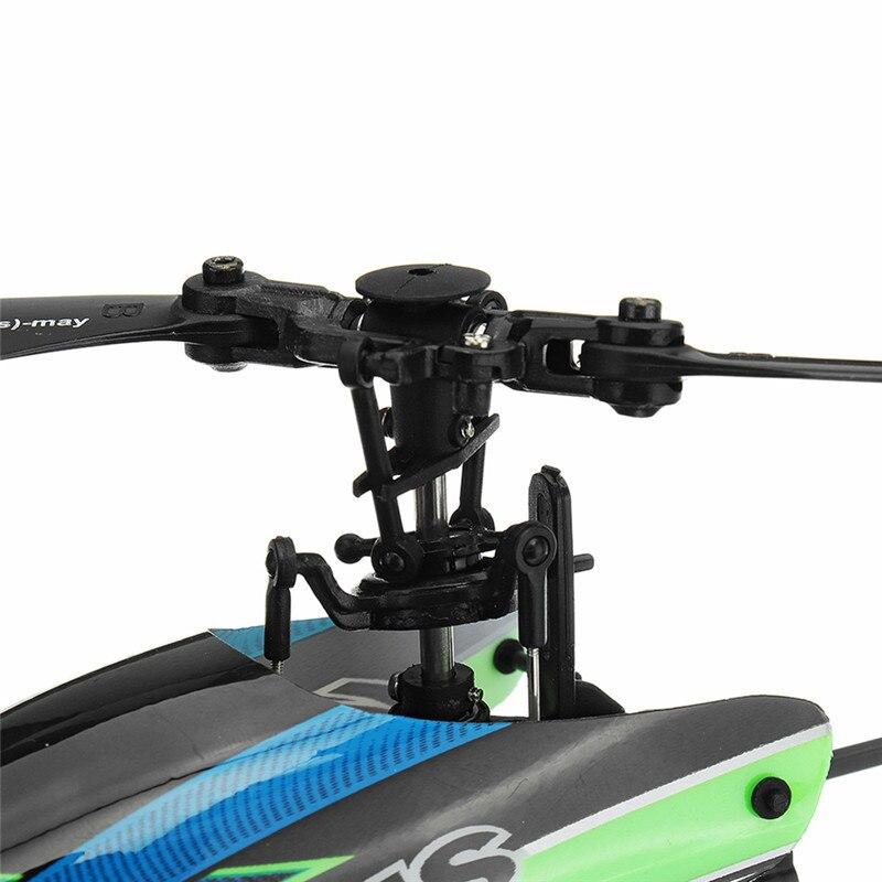 (С 3 батареями) Новая Популярная игрушка WLtoys V911S 2,4G 4CH 6 Aixs Gyro Flybarless RC вертолет RTF для начинающих детская игрушка - 5