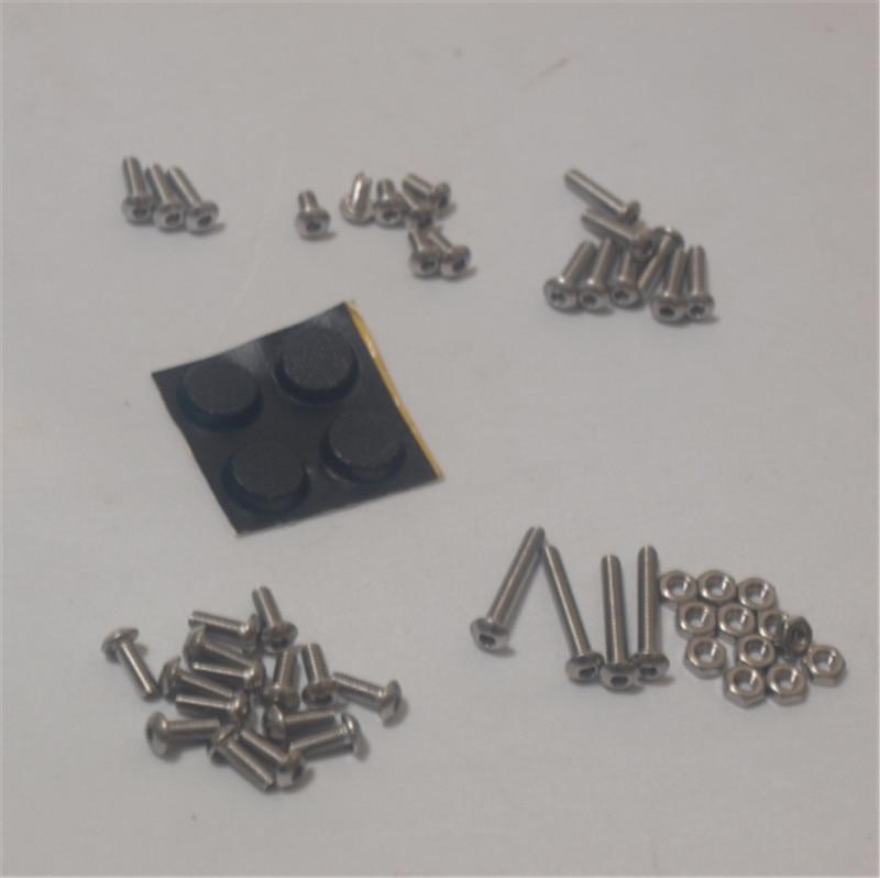 Bevestigingen Kit Schroeven Noten Plastic Voeten Set Voor Diy Mearm Mini Industriële Robotic Goede Reputatie Over De Hele Wereld